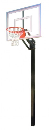 First Team CHAMP TURBO Adjustable Basketball Hoop