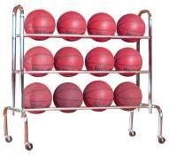 First Team Economy Ball Rack