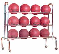 First Team Economy Ball Rack