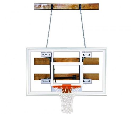 First Team FOLDAMOUNT 46 PRO Side-Folding Wall Mount Basketball Hoop