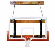 First Team FOLDAMOUNT 46 VICTORY Side-Folding Wall Mount Basketball Hoop