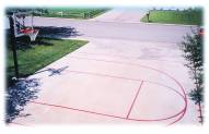 First Team FT20 Basketball Court Stencil Kit