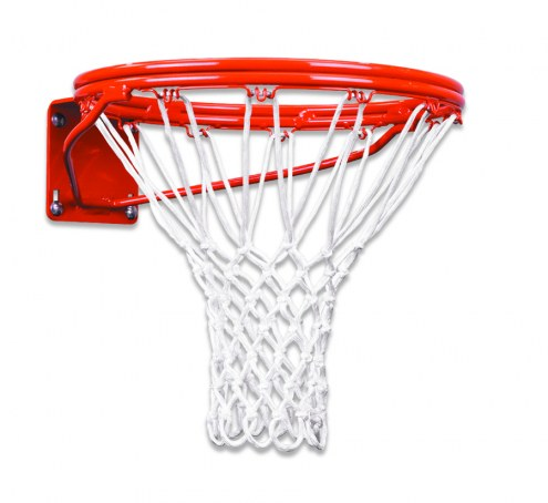 First Team Heavy Duty Double Fixed Basketball Rim - 5 x 5 and 4 x 5 Mount