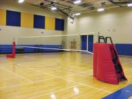 First Team HORIZON-ST Portable Volleyball System with Judges Stand