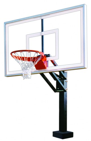 First Team HYDROCHAMP SELECT Adjustable Pool Side Basketball Hoop