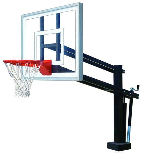 First Team HYDROSHOT II Adjustable Pool Side Basketball Hoop