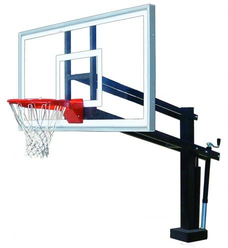 First Team HYDROSHOT SELECT Adjustable Pool Side Basketball Hoop