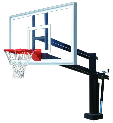 First Team HYDROSHOT SELECT Adjustable Pool Side Basketball Hoop