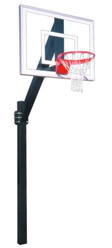 First Team LEGEND JR ULTRA Fixed Height Basketball Hoop