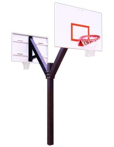 First Team LEGEND PLAYGROUND DUAL Fixed Height Basketball Hoop
