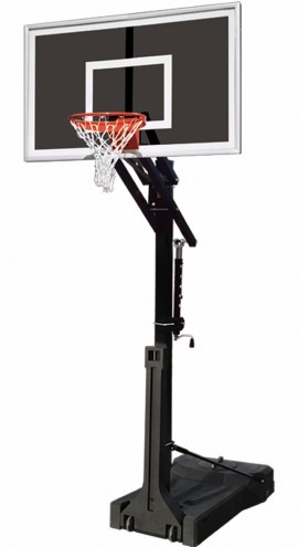 First Team OmniJam Eclipse Adjustable Portable Basketball Hoop