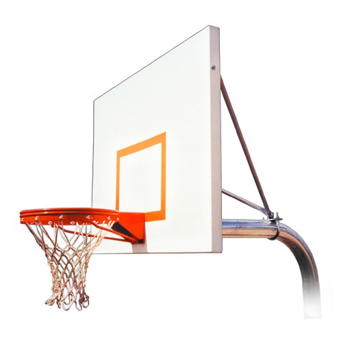 First Team RUFFNECK IMPERVIA Fixed Height Playground Basketball Hoop