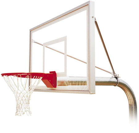 First Team RUFFNECK SELECT Fixed Height Playground Basketball Hoop