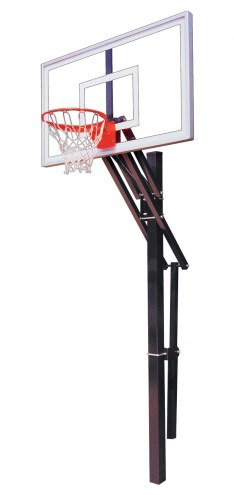First Team SLAM NITRO Adjustable Basketball Hoop