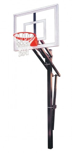 First Team SLAM TURBO Adjustable Basketball Hoop