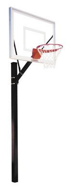First Team SPORT III Fixed Height Basketball Hoop