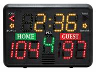 First Team Table Top Portable Scoreboard With Battery Power