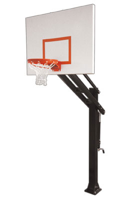 First Team TITAN IMPERVIA Adjustable Basketball Hoop c9214055fd