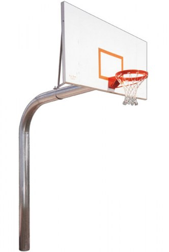 First Team TYRANT IMPERVIA Fixed Height Basketball Hoop