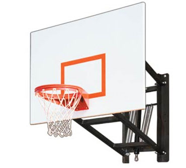 First Team WALLMONSTER PLAYGROUND Wall Mounted Adjustable Basketball Hoop