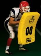 "Fisher 10003 36"" x 22"" x 5"" Jumbo Curved Football Shield"