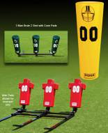 Fisher 3 Man Brute Youth Football Sled
