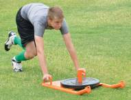 "Fisher 35"" x 20"" Football Push Pull Sled"