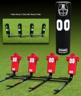 Fisher 4 Man Brute Youth Football Sled