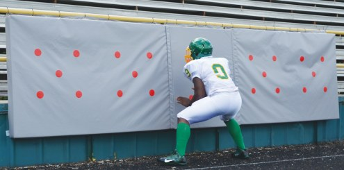 Fisher 4' x 16' Football Target Punch Pads