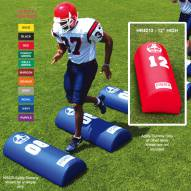 "Fisher 42"" x 16"" x 12"" Half Round Football Agility Dummy"