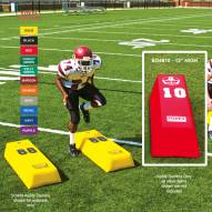 "Fisher 48"" x 12"" Step Over Agility Football Dummy"