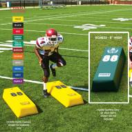 "Fisher 48"" x 8"" Step Over Agility Football Dummy"