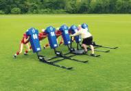 Fisher 5 Man Big Boomer Football Sled