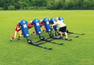 Fisher 5 Man Big Boomer Football Sled