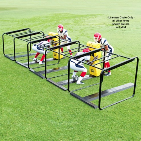 Fisher 5 Man Lineman Football Chute