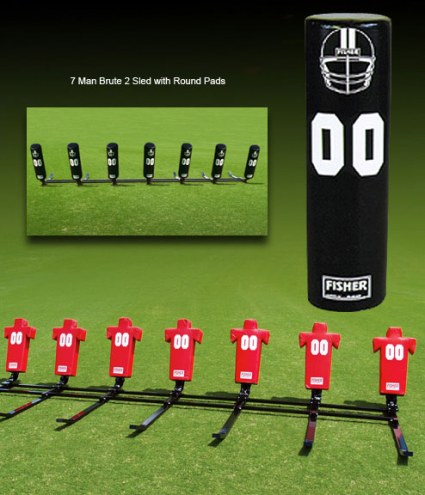 Fisher 7 Man Brute Youth Football Sled