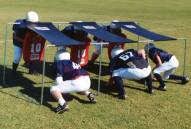 Fisher 7 Man Junior Football Chute