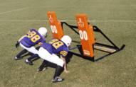 Fisher Athletic 3 Man Youth Football Blocking Sled