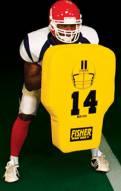 "Fisher HD104 31"" x 21"" Contour Football Body Shield"