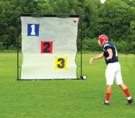 Fisher Athletic Deluxe Skill Zone Football Target System