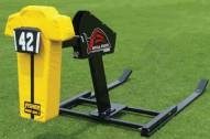 Fisher Bull Rush One Man Blocking Football Sled - Pummel Pad