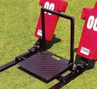 Fisher Coaches Platform for Football Sleds