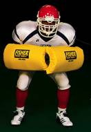 Fisher HD400 Curved Forearm Football Shield