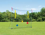 Fisher Portable High School Football Goal Post - Net / Targets / Uprights Set