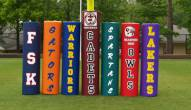 Fisher Pro Series Football Goal Post Pads