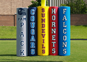 Fisher Varsity Series Football Goal Post Pads