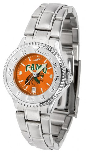 Florida A&M Rattlers Competitor Steel AnoChrome Women's Watch