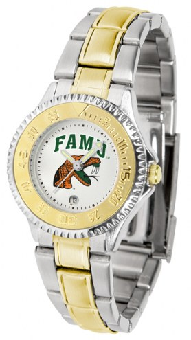 Florida A&M Rattlers Competitor Two-Tone Women's Watch