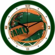 Florida A&M Rattlers Slam Dunk Wall Clock