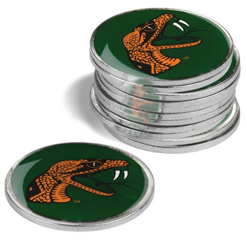 Florida A&M Rattlers 12-Pack Golf Ball Markers